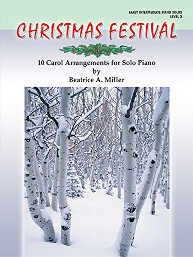 9780757915512: Christmas Festival, Level 3: 10 Carol Arrangements for Solo Piano