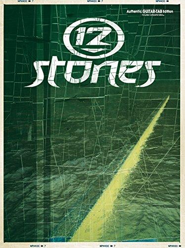 9780757915635: 12 Stones: Authentic Guitar TAB