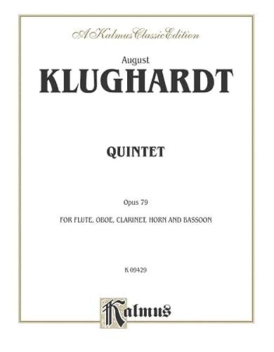 Quintet, Op. 79: Flute, Oboe, Clarinet, Horn