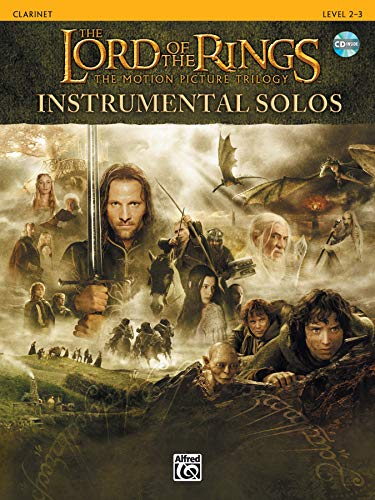 9780757916571: The Lord of the Rings Instrumental Solos: Clarinet, Book & CD