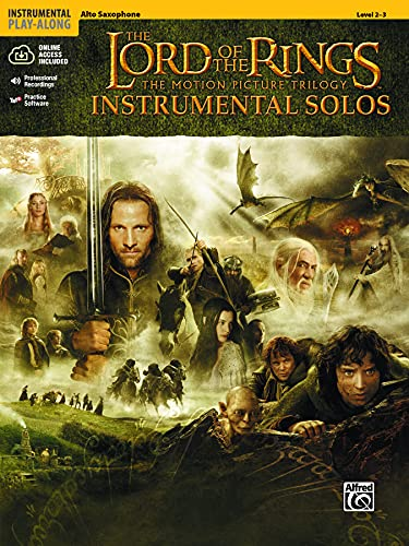 9780757916595: The Lord of the Rings: Instrumental Solos: Alto Sax