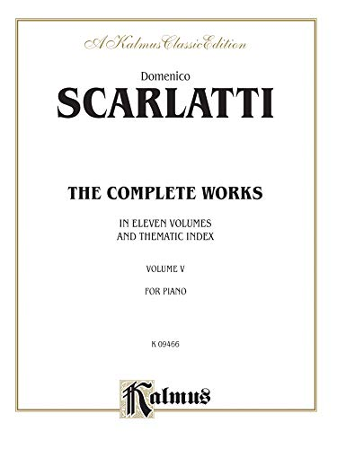 The Complete Works, Vol 5 (Kalmus Edition)