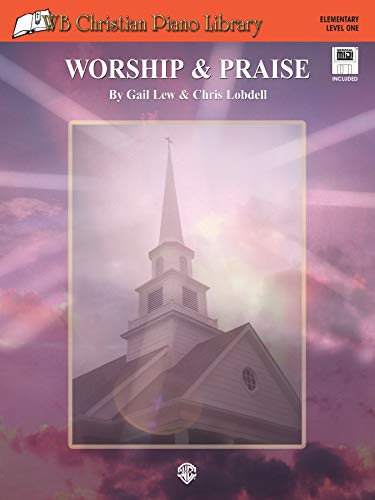 9780757917097: WB Christian Piano Library: Worship & Praise, Book & General MIDI Disk