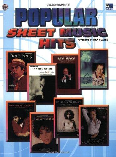 Sheet Music Hits (Paperback)