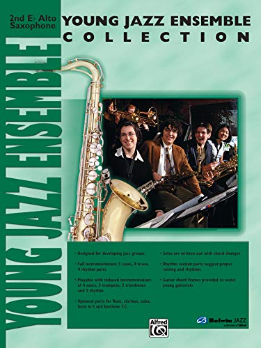 9780757918667: Young Jazz Ensemble Collection: 2nd E-flat Alto Saxophone