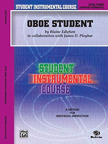 9780757918889: Student Instrumental Course Oboe Student: Level III