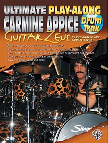 9780757919169: Ultimate Play-Along Carmine Appice: Guitar Zeus Drum Trax