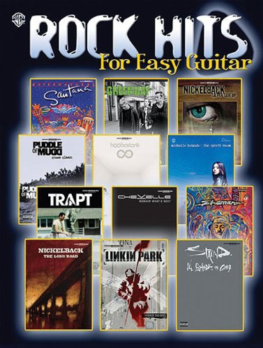 Rock Hits for Easy Guitar: Hal Leonard Corp.