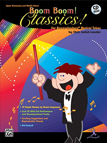 9780757919534: Boom Boom! Classics! For Boomwhackers Musical Tubes: Book & CD