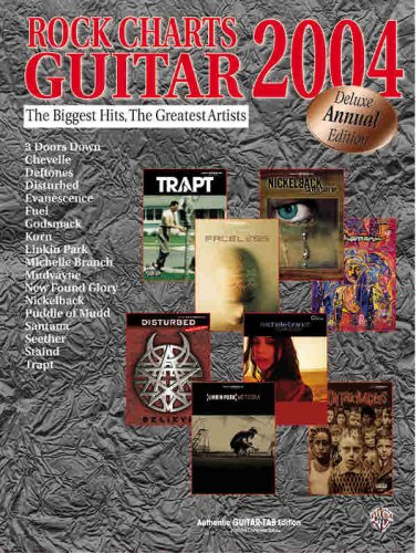9780757919848: Rock Charts Guitar 2004: Authentic Guitar TAB