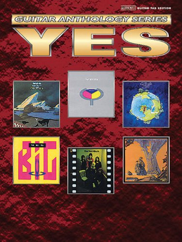 9780757919862: Yes -- Guitar Anthology: Authentic Guitar TAB (Guitar Anthology Series)