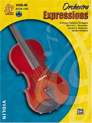 9780757919916: Orchestra Expressions, Book One Student Edition: Violin, Book & CD
