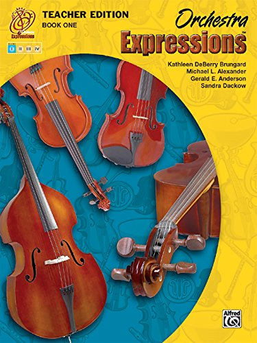 9780757920530: Orchestra Expressions, Book One Teacher Edition