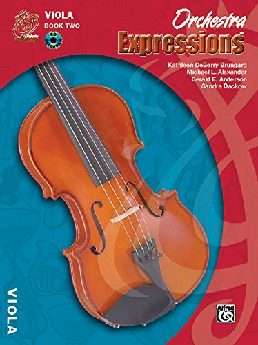 9780757920677: Orchestra Expressions, Book Two Student Edition: Viola, Book & CD