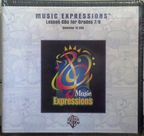 Music Expressions Grades 7-8 (Middle School 2): Lesson, CDs
