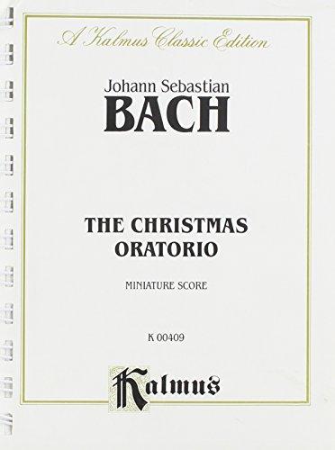 9780757921964: Christmas Oratorio: Miniature Score (Miniature Score) (Kalmus Edition)