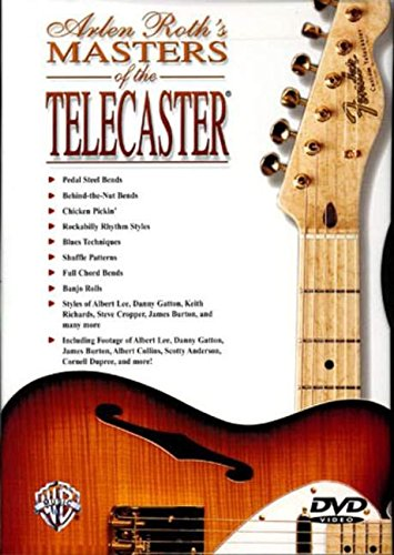 9780757922091: Arlen Roth's Masters of the Telecaster: DVD