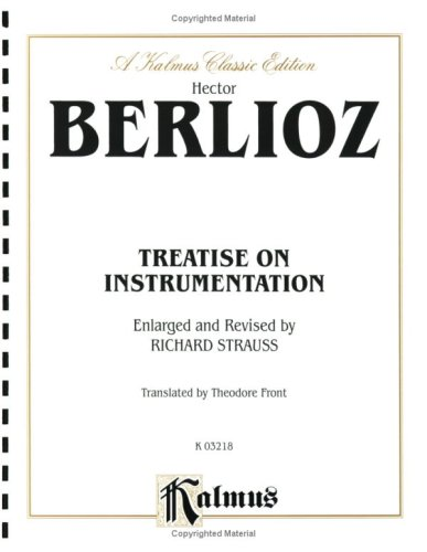 9780757922640: Treatise on Instrumentation (Kalmus Edition)