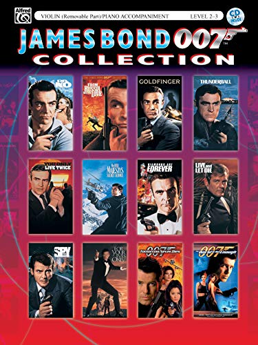 9780757922930: James Bond 007 Collection for Strings: Violin (with Piano Acc.), Book & CD