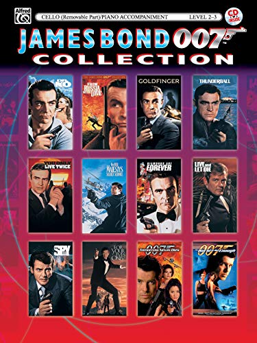 James Bond 007 Collection for Strings: Cello: Staff, Alfred Publishing