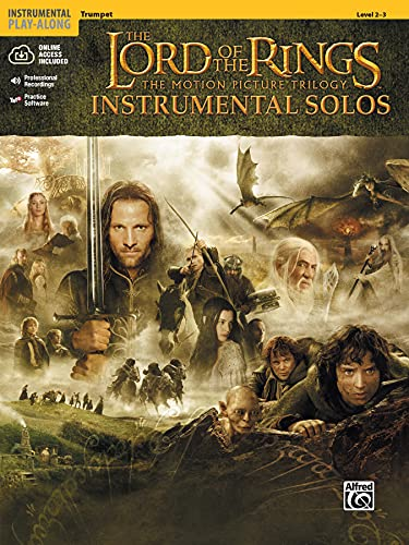 9780757923258: The Lord of the Rings Instrumental Solos: Trumpet