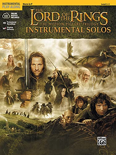 9780757923265: The Lord of the Rings Instrumental Solos: The Motion Picture Trilogy, Horn in F, Level 2-3