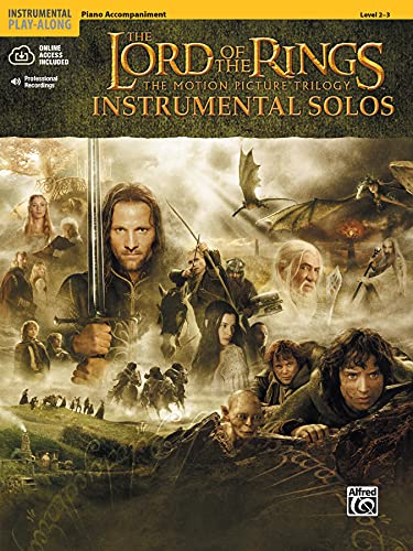 9780757923289: The Lord of the Rings, Instrumental Solos: Piano Accompaniment, Levels 2-3