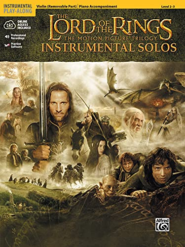 9780757923296: Lord of the Rings Instrumental Solos for Strings