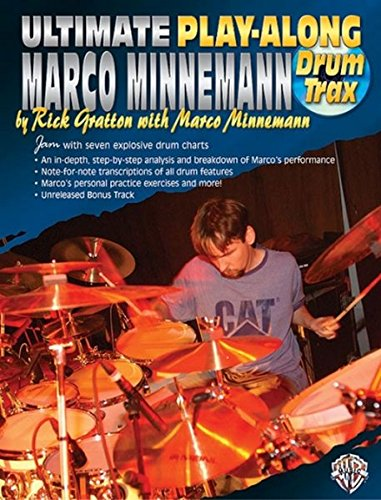 9780757923692: Ultimate Play-Along Drum Trax Marco Minnemann: Jam with Seven Explosive Drum Charts, Book & 2 CDs