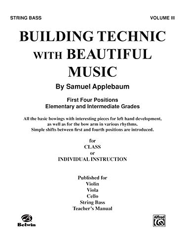 9780757923807: Building Technic With Beautiful Music, Bk 3: Bass