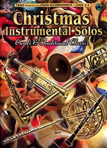 9780757923906: Christmas Instrumental Solos -- Carols & Traditional Classics for Strings: Viola (with Piano Acc.), Book & CD