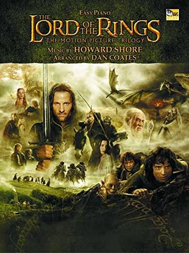 9780757924149: The Lord of the Rings Trilogy: Music from the Motion Pictures Arranged for Easy Piano
