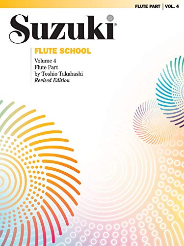 9780757924736: Suzuki Flute School, Vol 4: Flute Part (The Suzuki Method Core Materials)