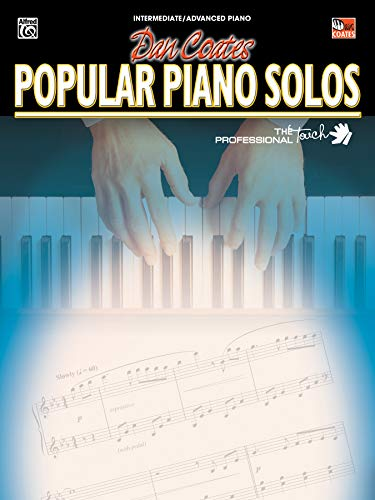 9780757924804: Dan Coates Popular Piano Solos (The Professional Touch)