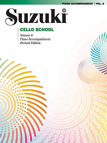 9780757924880: Suzuki Cello School Piano Accompaniment 8: Piano Accompaniment
