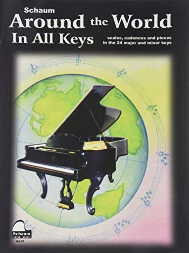9780757926877: Around the World in All Keys: Level 3 (Schaum Publications)