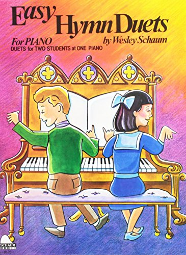 Easy Hymn Duets: Level 1 (Schaum Publications): Schaum, Wesley