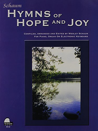 9780757927652: Hymns of Hope and Joy: Level 1 (Big Note w. Lyrics) (Schaum Publications)