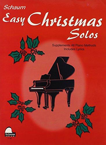 9780757928055: Easy Christmas Solos (Schaum Publications)