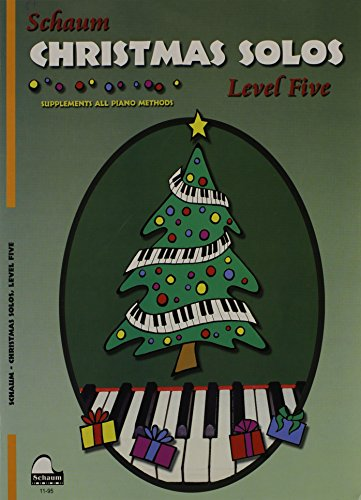 9780757928116: Christmas Solos: Level 5 (Schaum Publications)