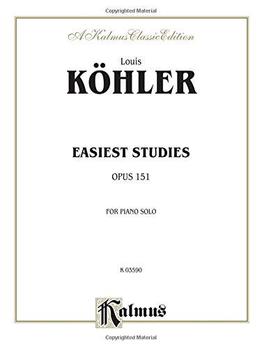 9780757928246: Easiest Studies, Op. 151 (Kalmus Edition)