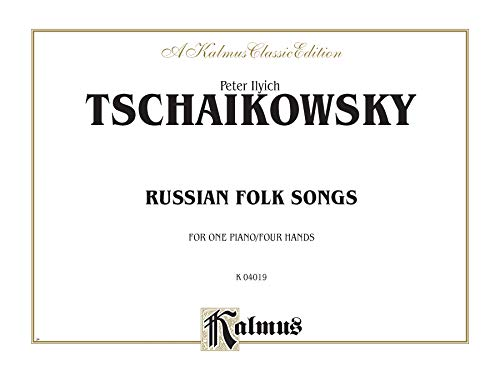 Russian Folksongs: Comb Bound Book (Kalmus Edition): Alfred Music