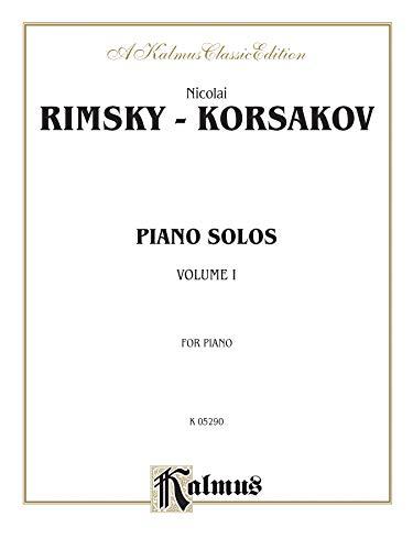 9780757928741: Piano Solos, Vol 1 (Kalmus Edition)