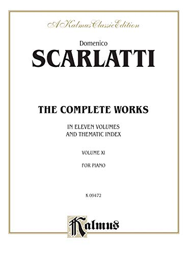 9780757928840: The Complete Works, Vol 11 (Kalmus Edition)