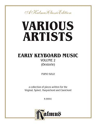 Early Keyboard Music, Volume II Format: Book: Ed. Louis Oesterle