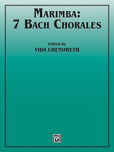 9780757931307: 7 Bach Chorales (Percussion Performance Series)