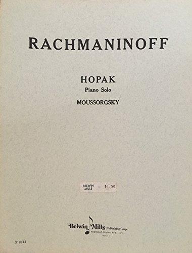 9780757931376: Hopak (Belwin Edition)