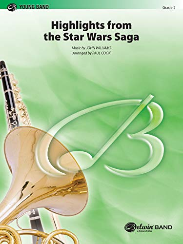 9780757933332: Star Wars Saga, Highlights from the (Young Band)