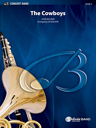 9780757933479: The Cowboys (Concert Band)