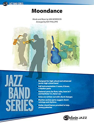 9780757934803: Moondance Jazz Ensemble (Jazz Band Series)